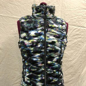 Tangerine Multi-Color Down Vest